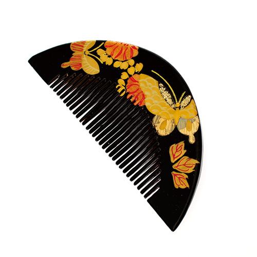 【髪飾り】櫛黒